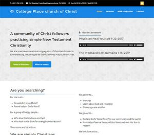 College Place church of Christ