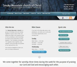 smoky mountain church
